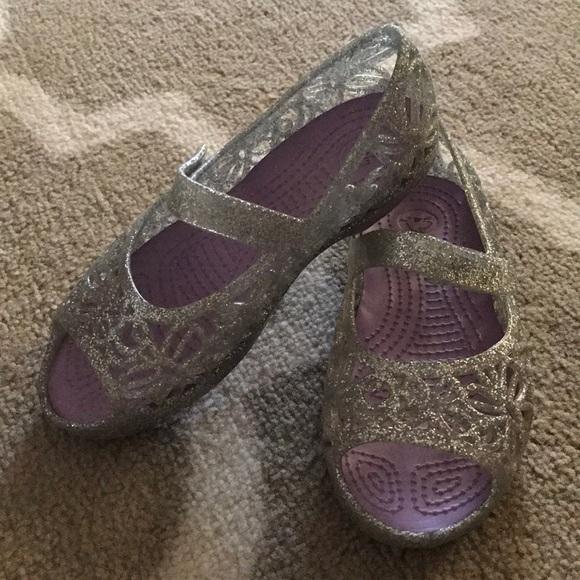 f8840fd91 63% off CROCS Shoes Little Girls Mary Jane
